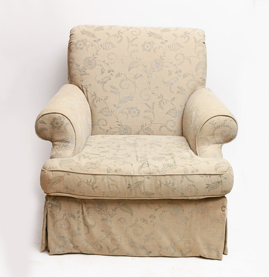 Upholstered Club Chair by Martha Stewart Signature for Bernhardt ...