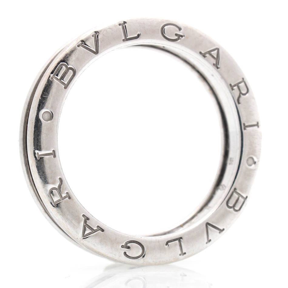 18K White Gold Bulgari Ring