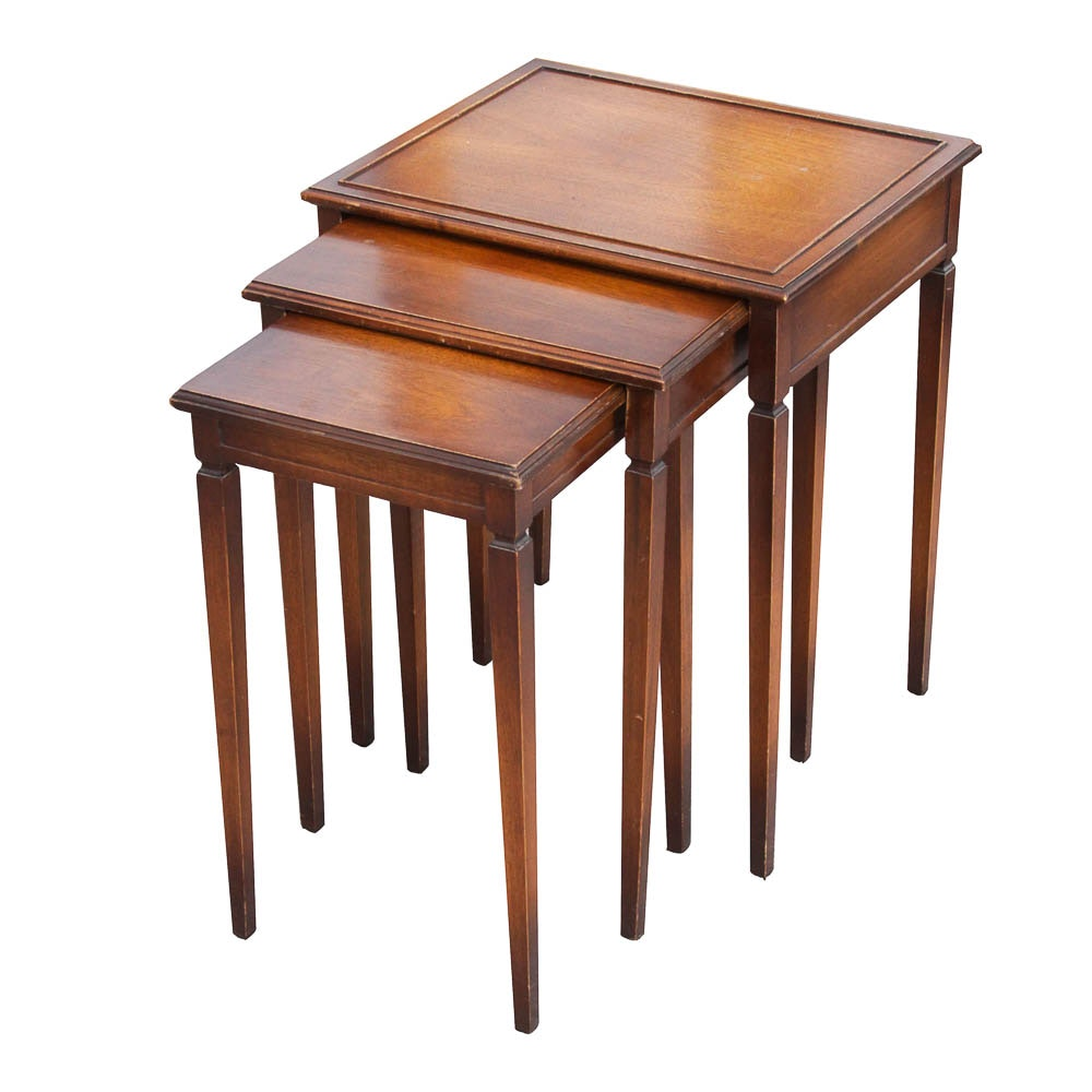 Imperial Furniture Mahogany Nesting Tables ...