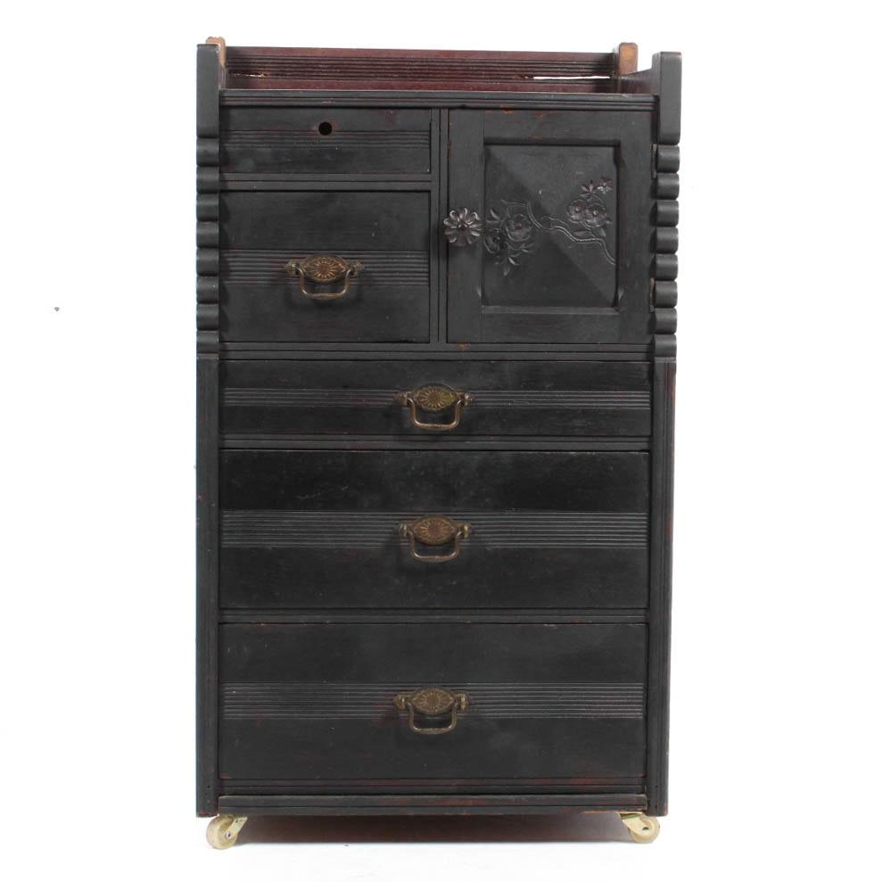 Antique Eastlake Cabinet