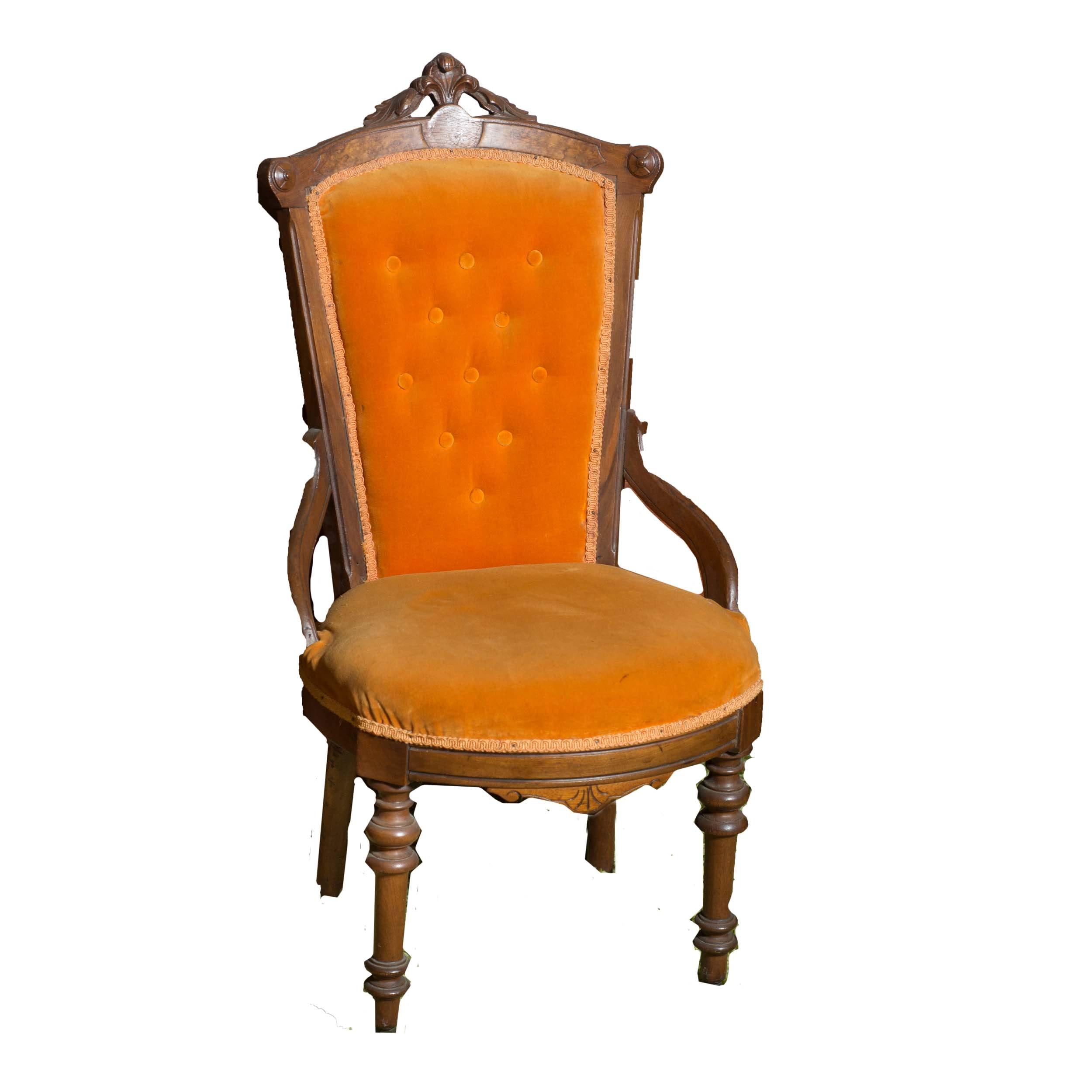 Late 19th Century Renaissance Revival Ladies Chair
