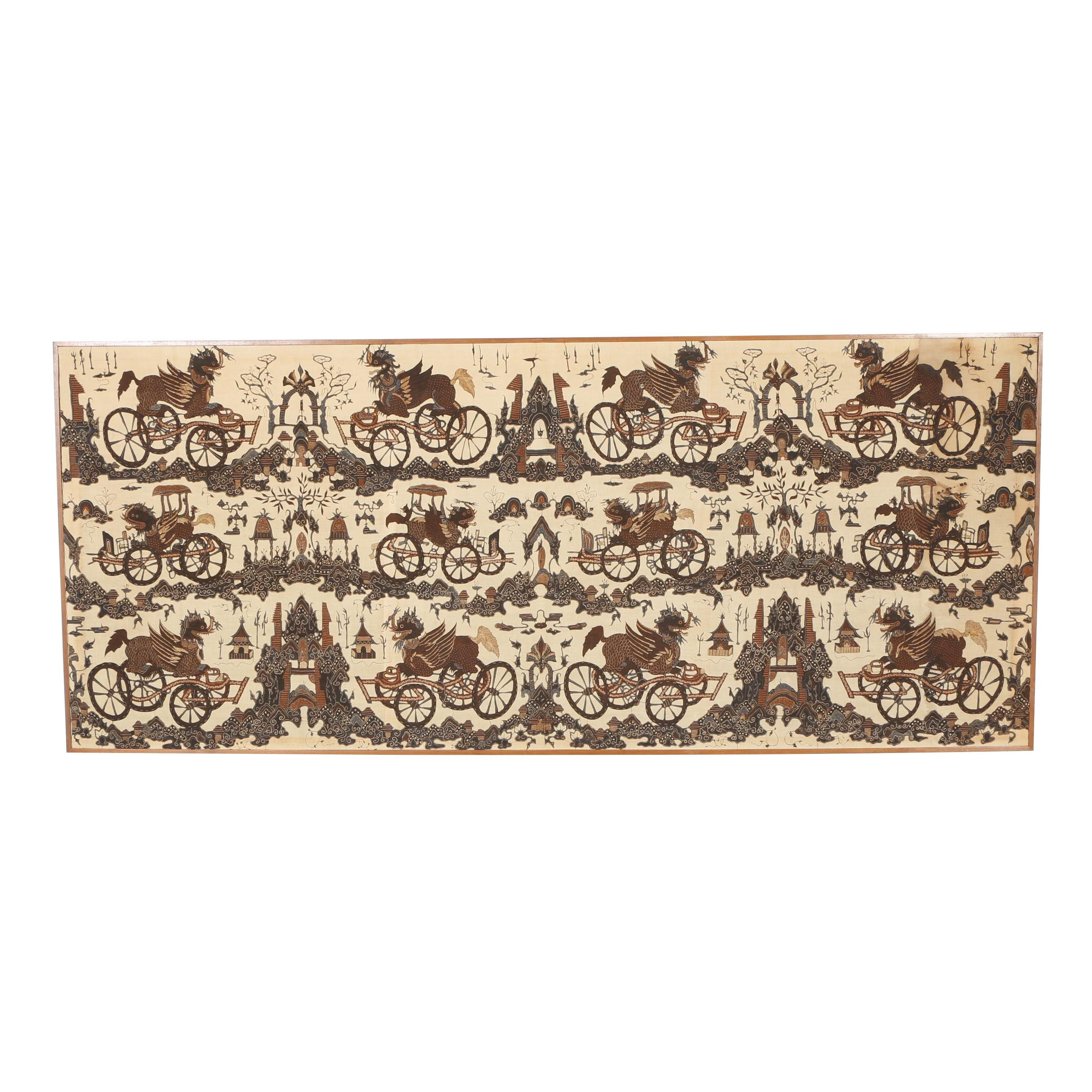 Balinese Style Batik Textile