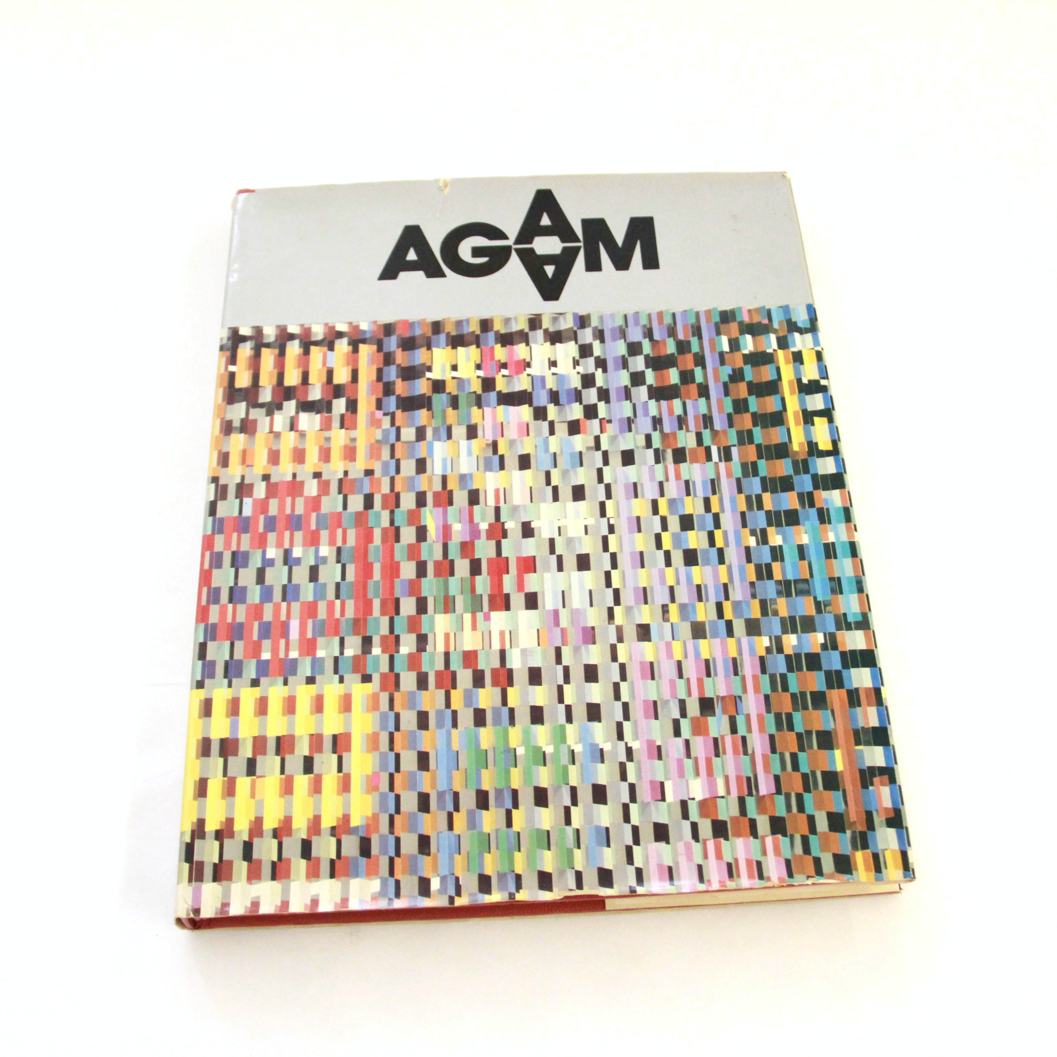 Signed Yaacov Agam Book