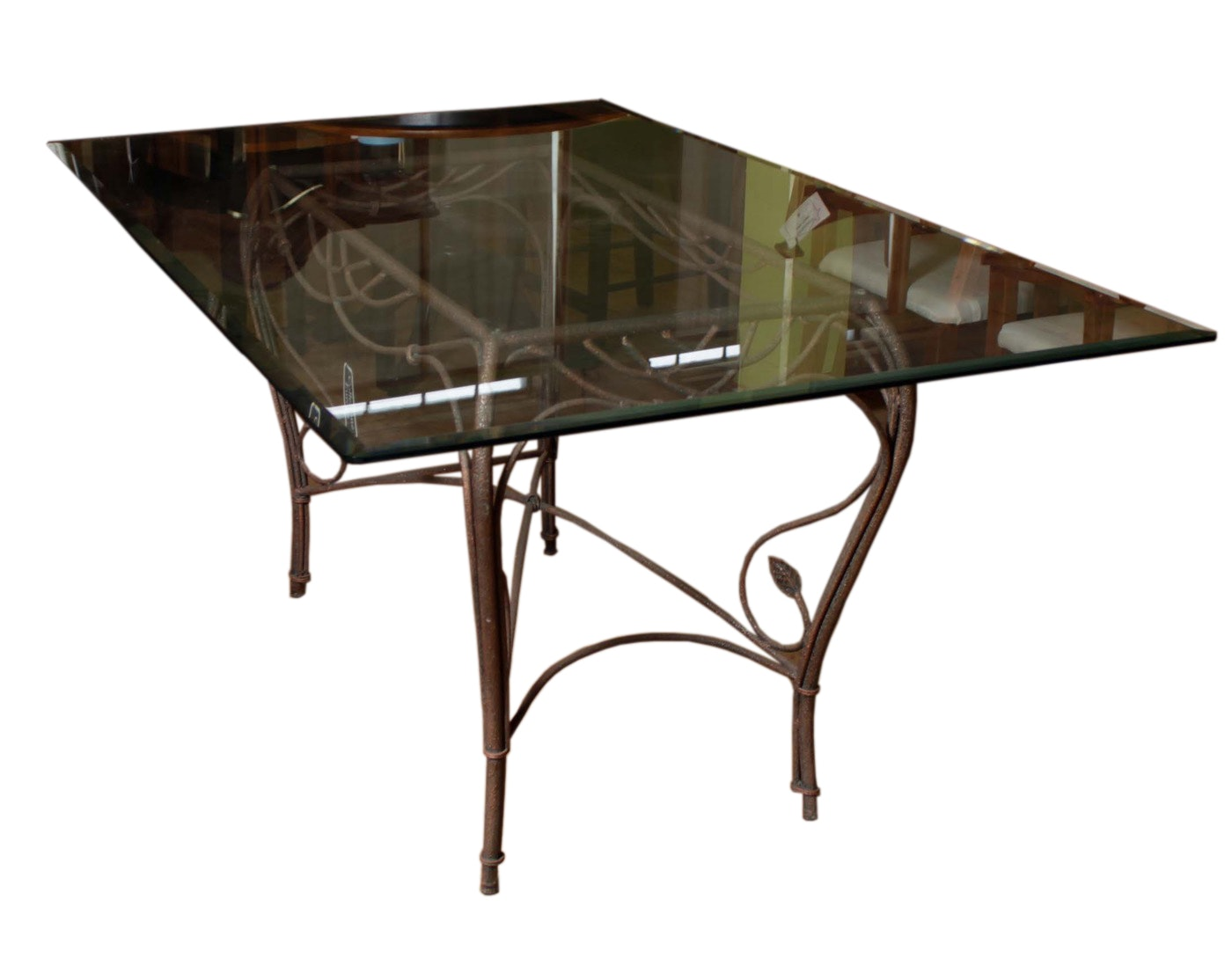 Wrought Iron Dining Set By Collezione Europa ...