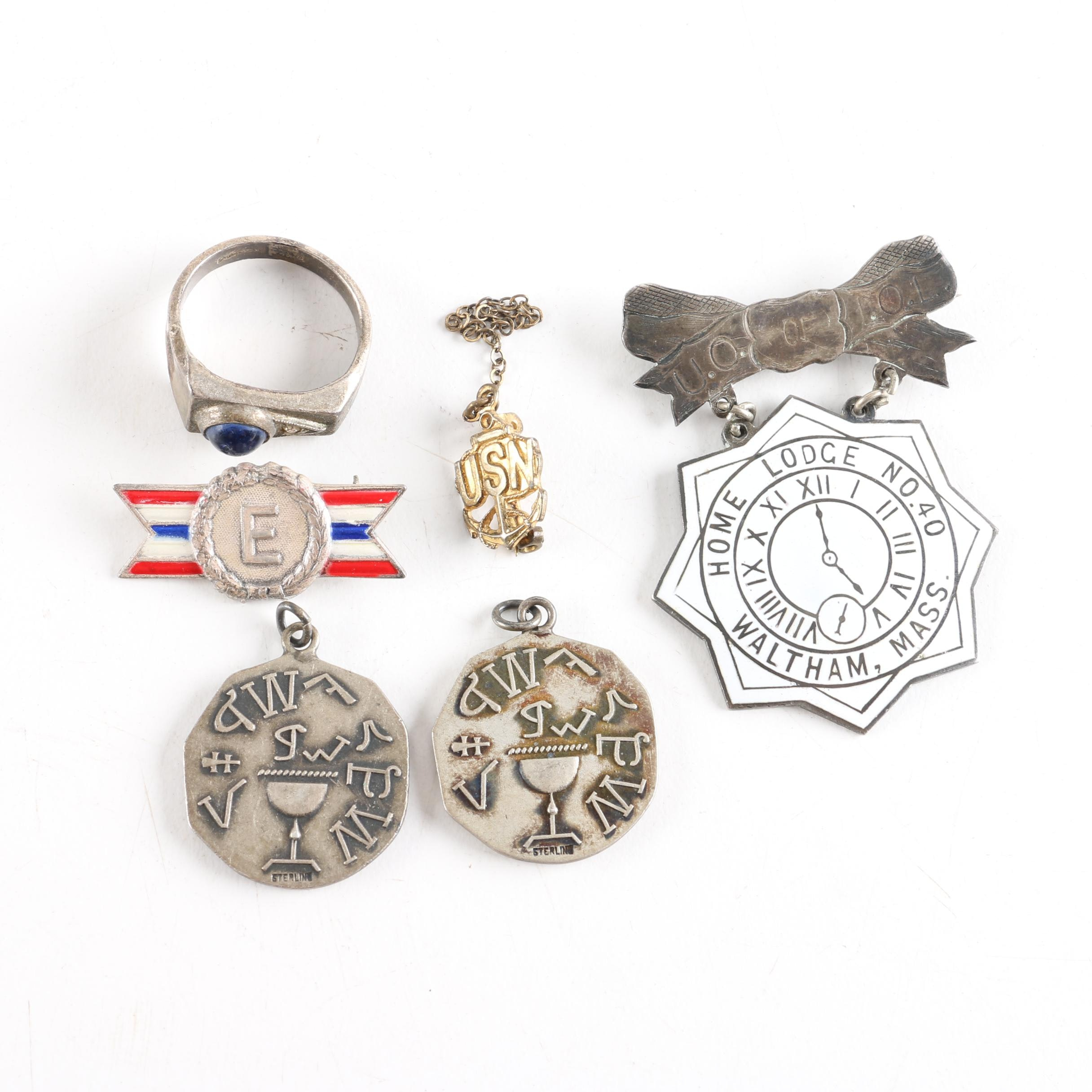Sterling Silver Society Jewelry