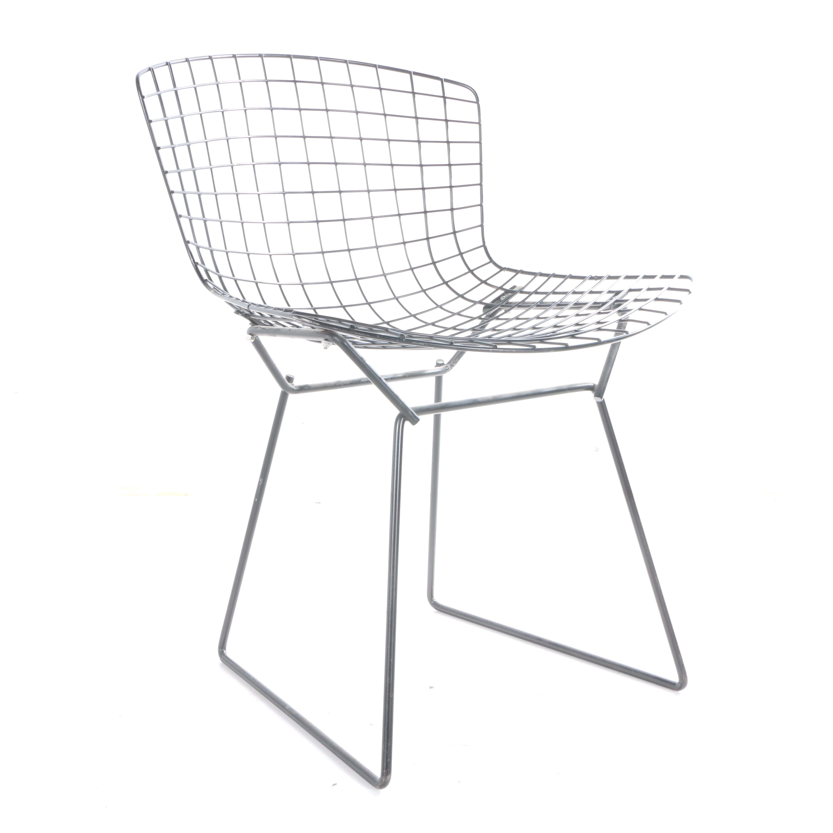 Beautiful Mid Century Modern Metal Chair ...