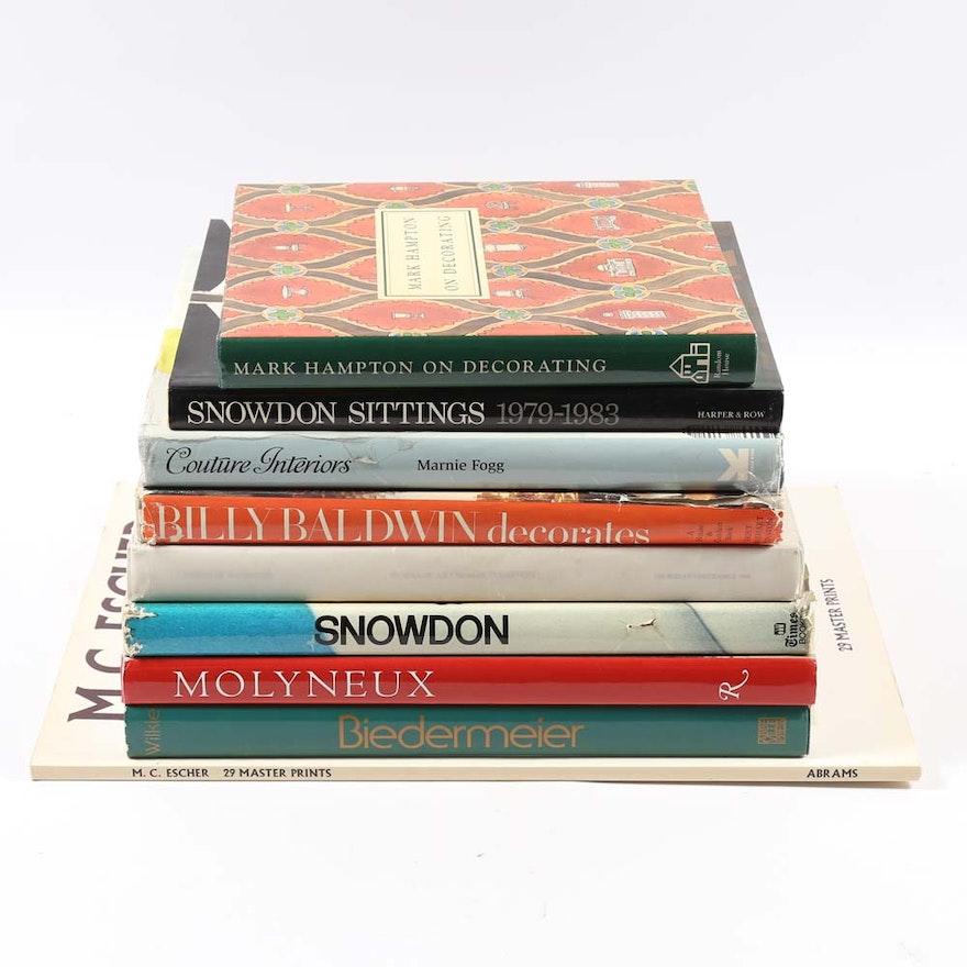 Art And Interior Design Coffee Table Books
