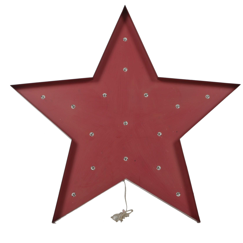 Rustic Star Wall Light