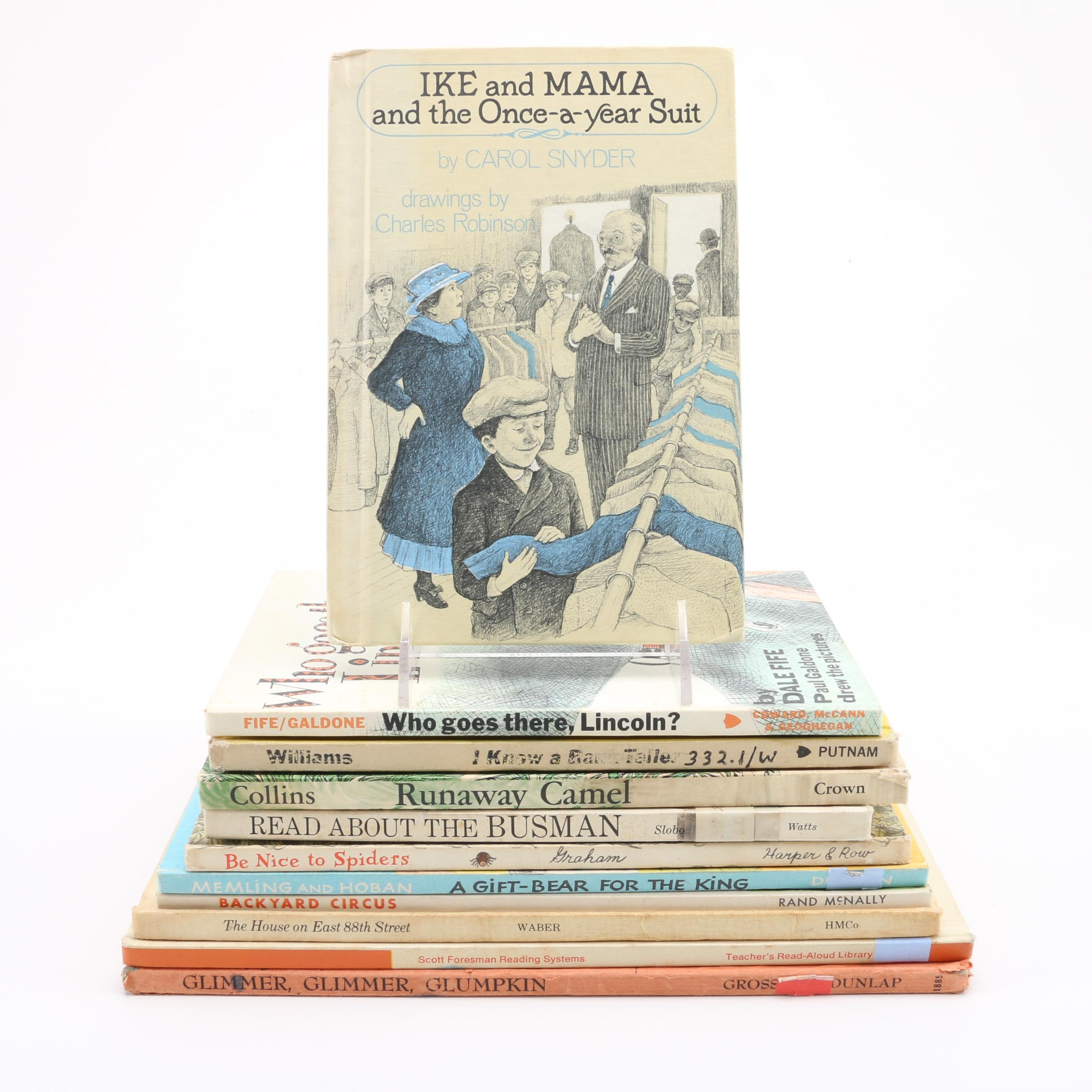 mixed collection of illustrated children u0027s books from 1960s and