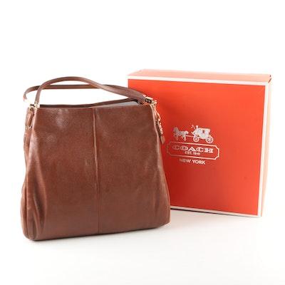 6670f38acfe7 Coach Madison Chestnut Leather Phoebe Handbag