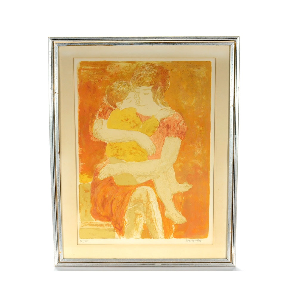 Pierre Garcia Fons Signed Limited Edition Color Lithograph