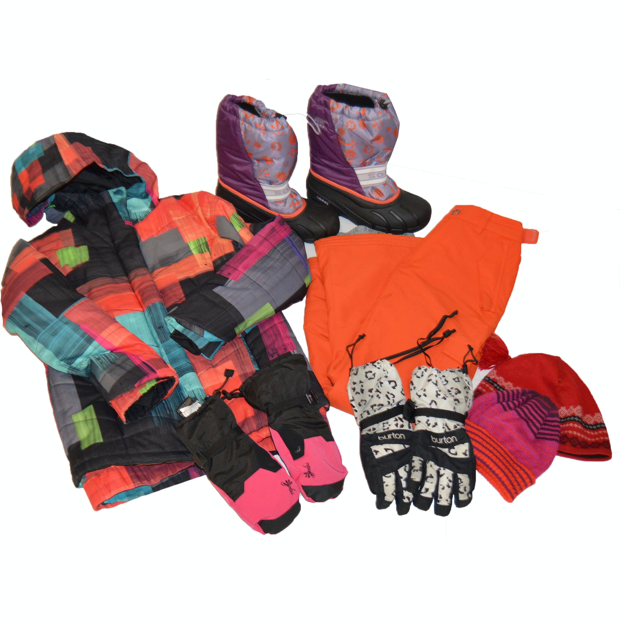Girls' Ski Apparel and Winter Boots Featuring Spyder