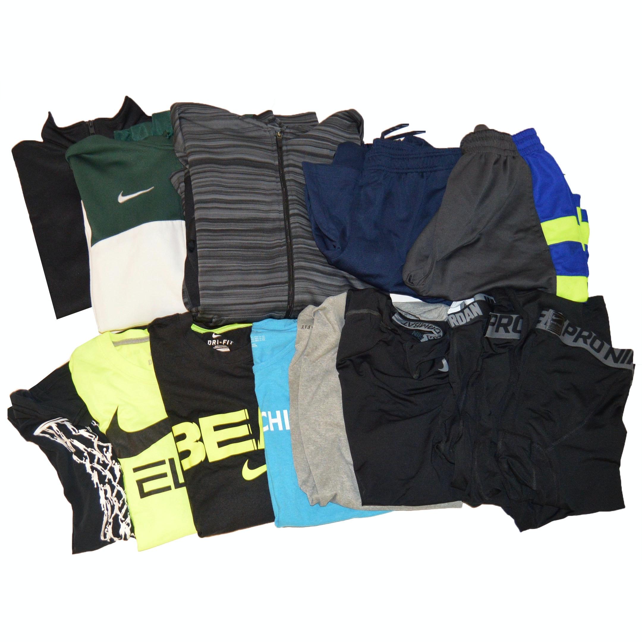 Boys Athletic Wear Featuring Nike