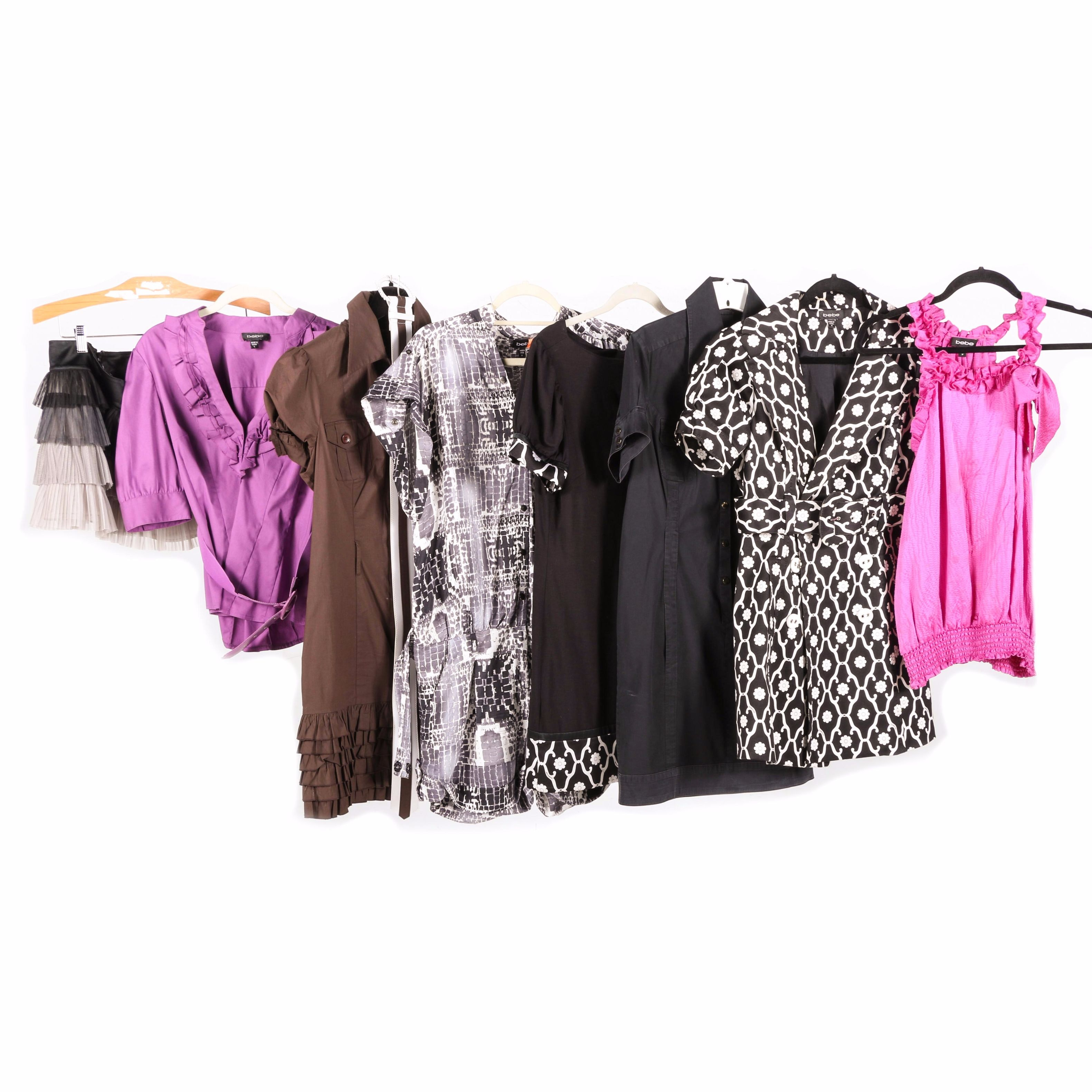 Women's Tops and Dresses from Bebe