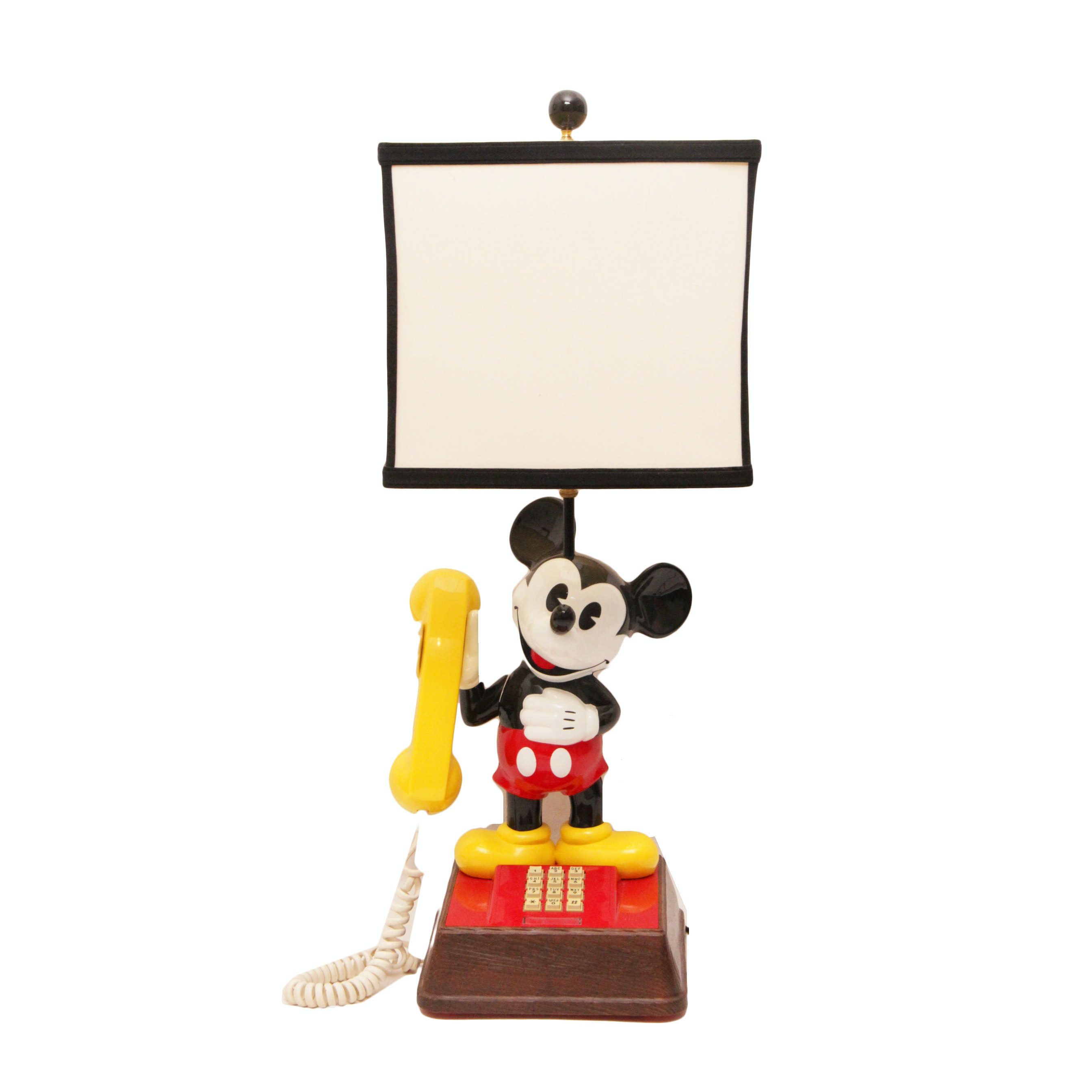 Combination Mickey Mouse Lamp And Phone ...