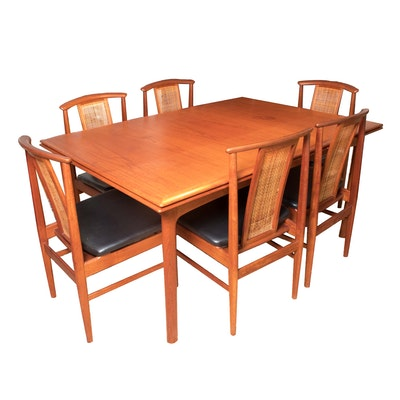 Skovmand Amp Andersen Teak Dining Table Ebth