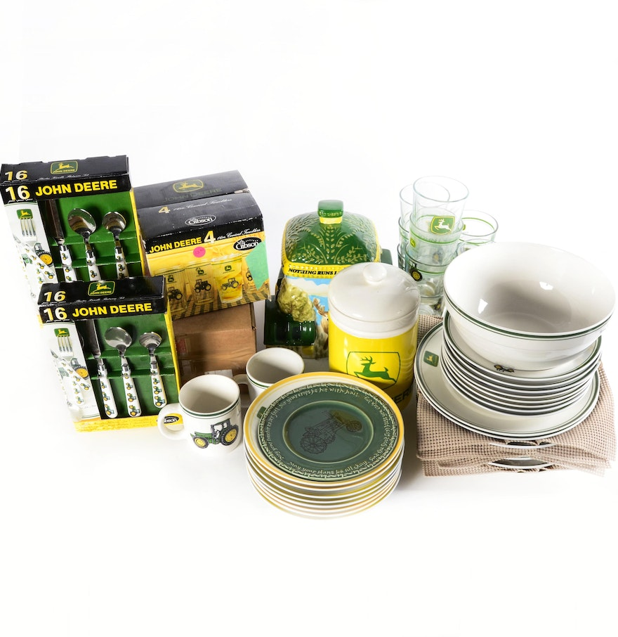 John Deere Bowl : Collection of john deere dishes and tableware ebth