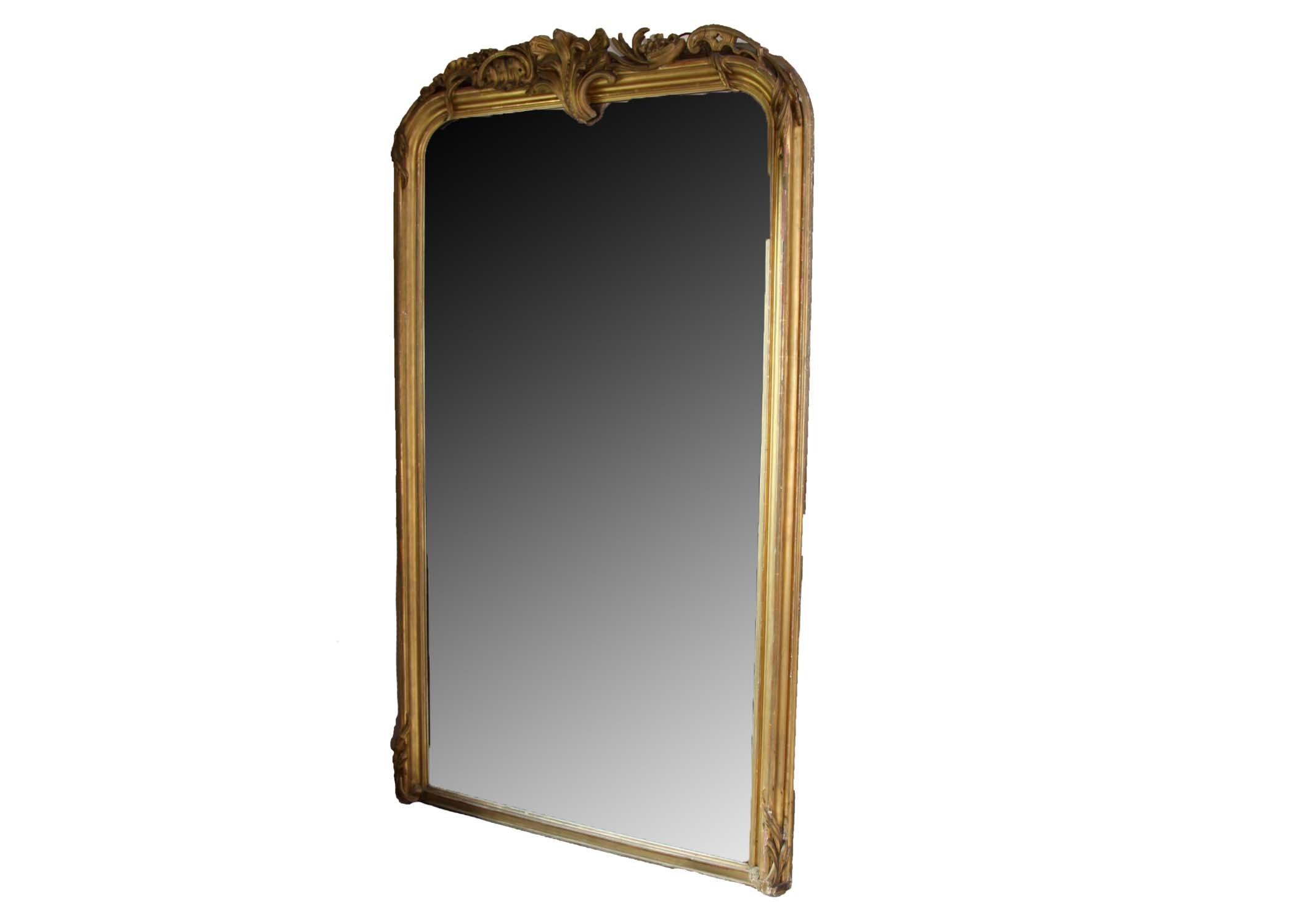 Very Large Vintage Gold Gilt Mirror