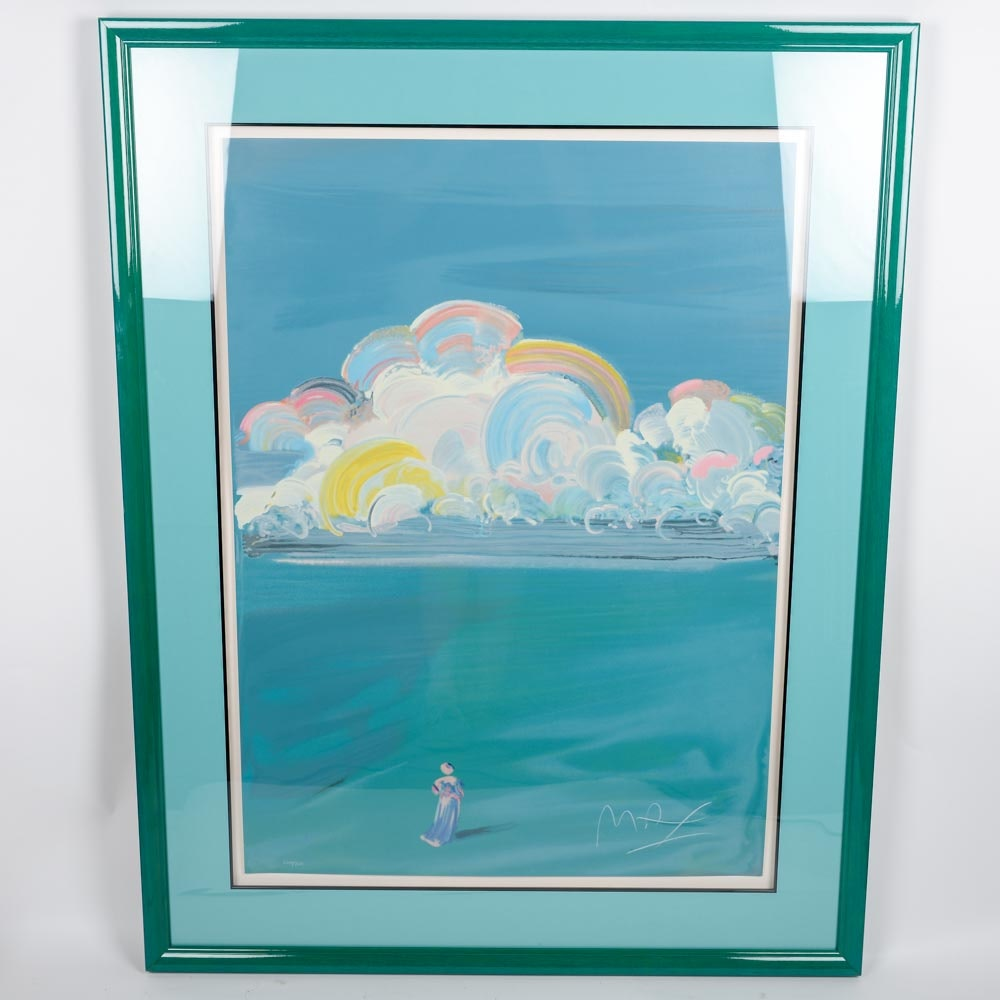 "Peter Max ""Sage"" Signed Limited Edition Serigraph"