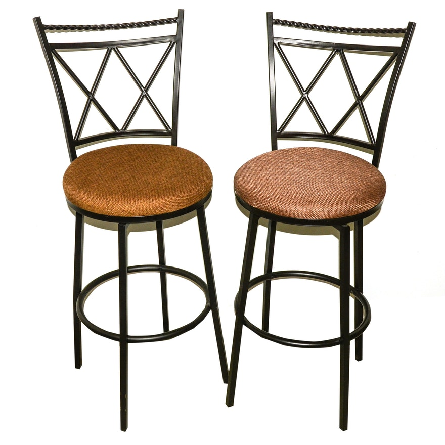 Pair Of Cheyenne Industries Bar Stools