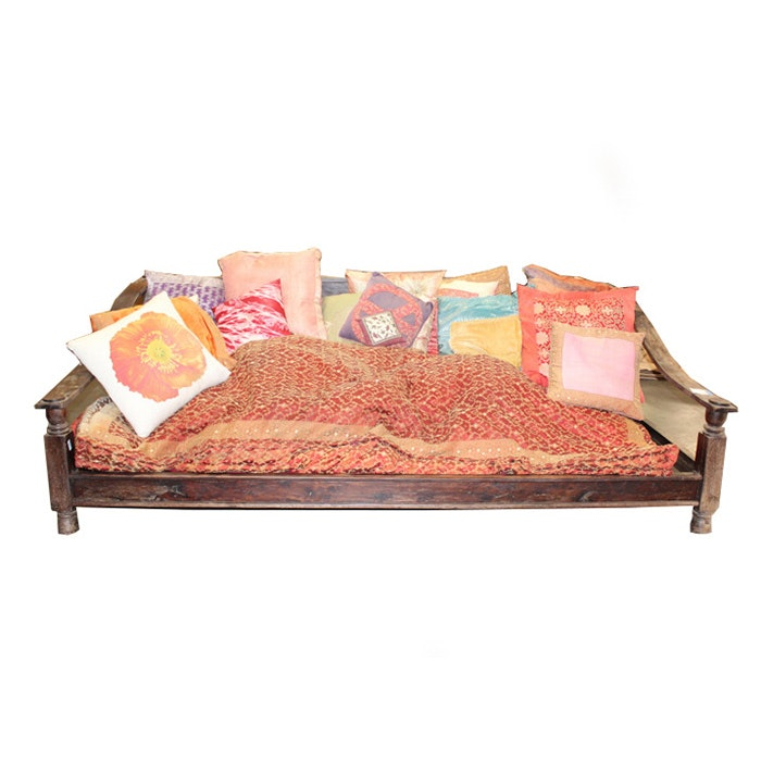 Tibetan-Style Couch