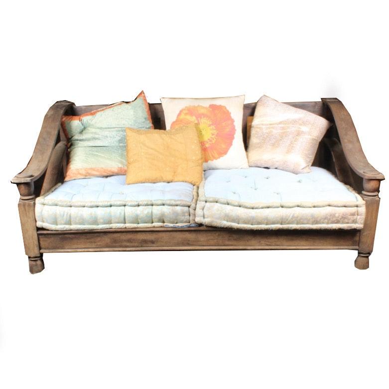 Tibetan-Style Love Seat