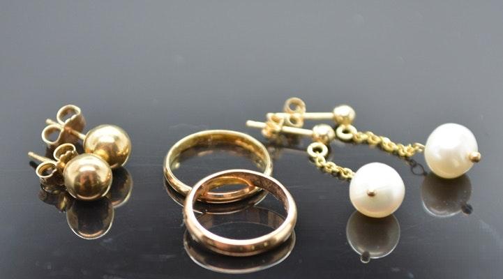 10K and 14K Yellow Gold Children's Jewelry