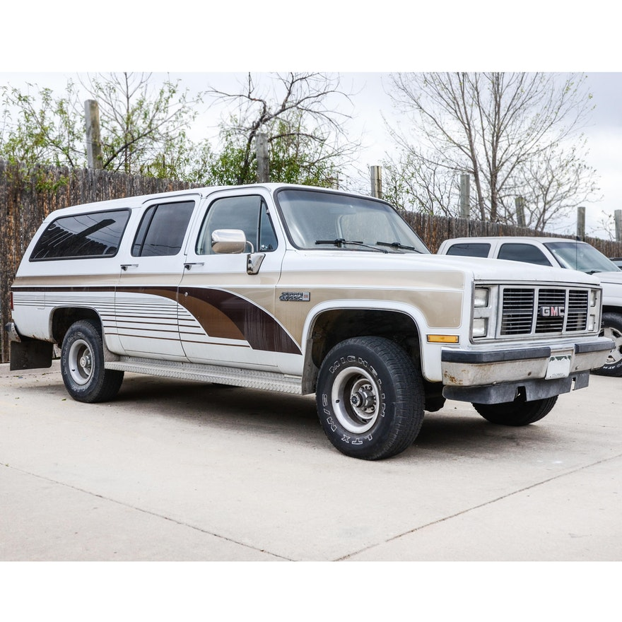 1986 Gmc Sierra For Sale: 1987 GMC Sierra Classic SUV : EBTH