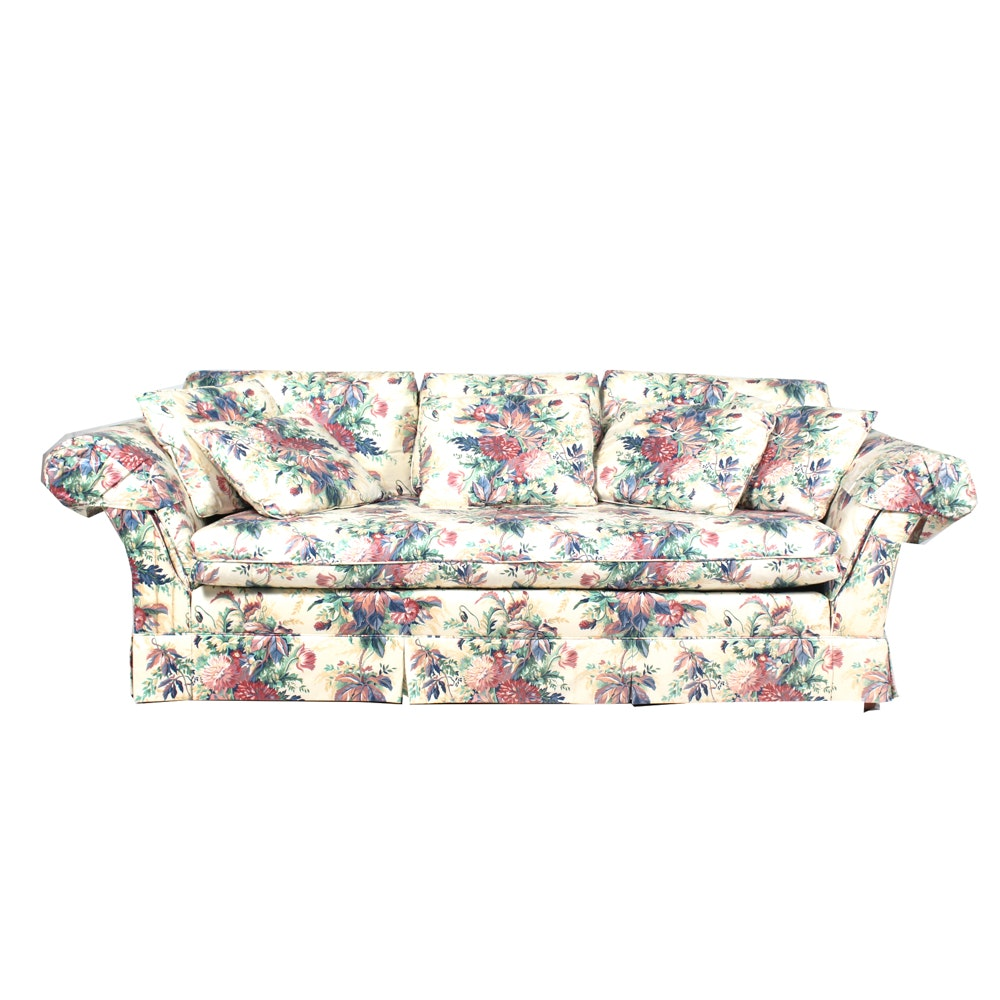 Henredon Floral Chintz Sofa ...