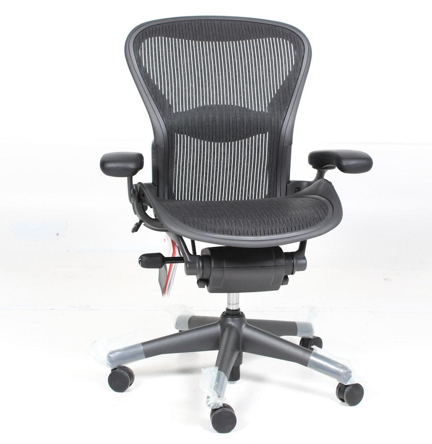 Herman Miller Aeron Office Chair Ebth