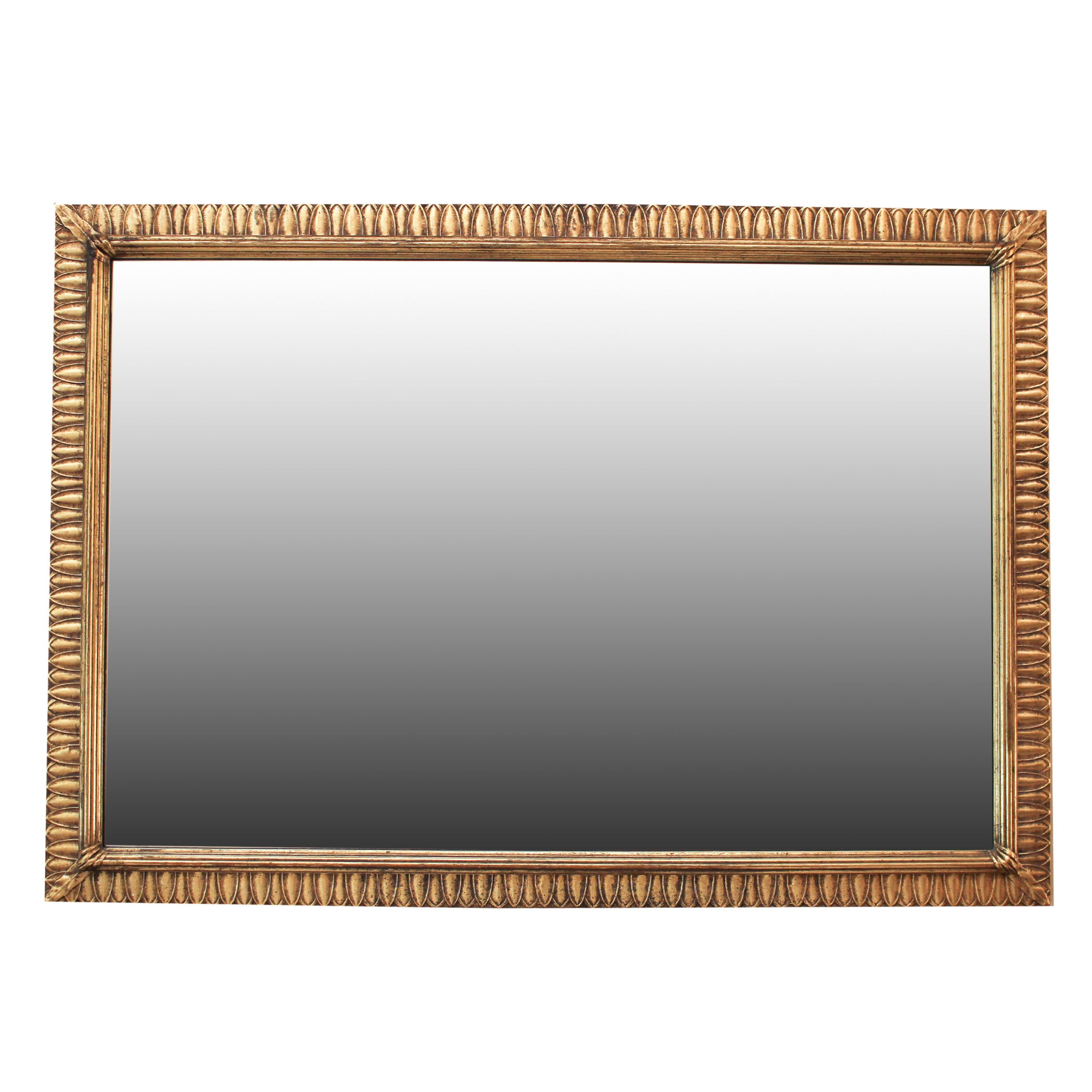 Gold Tone Wall Mirror