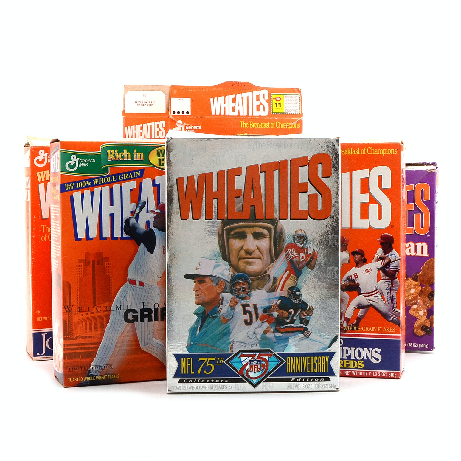 Collectible Wheaties Boxes