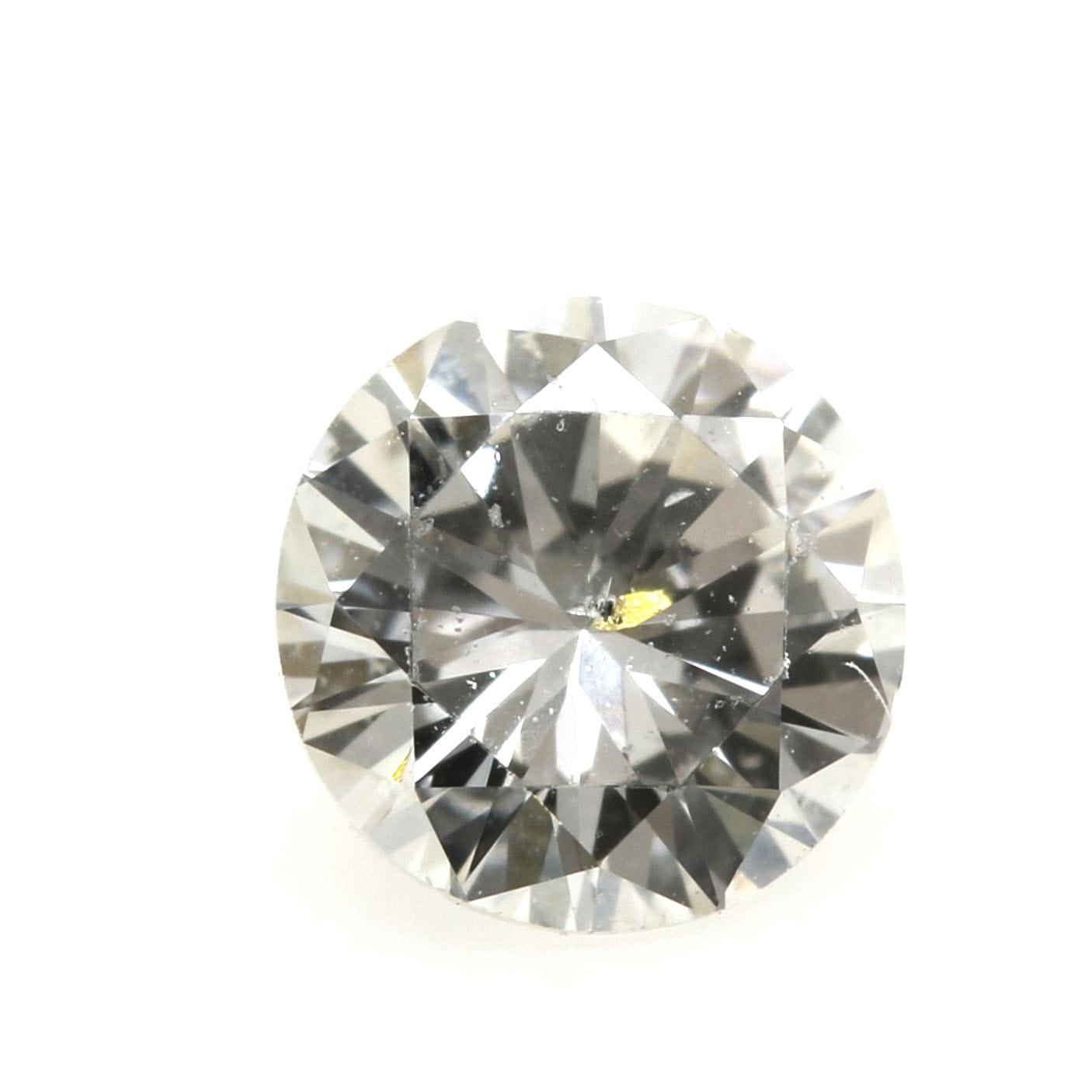Loose Round Brilliant Cut Diamond