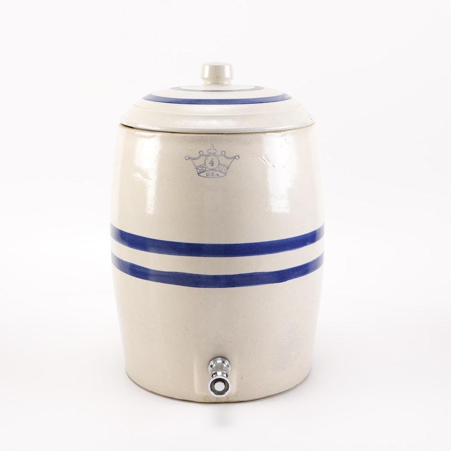 Robinson Ransbottom Pottery Water Dispenser Crock Ebth