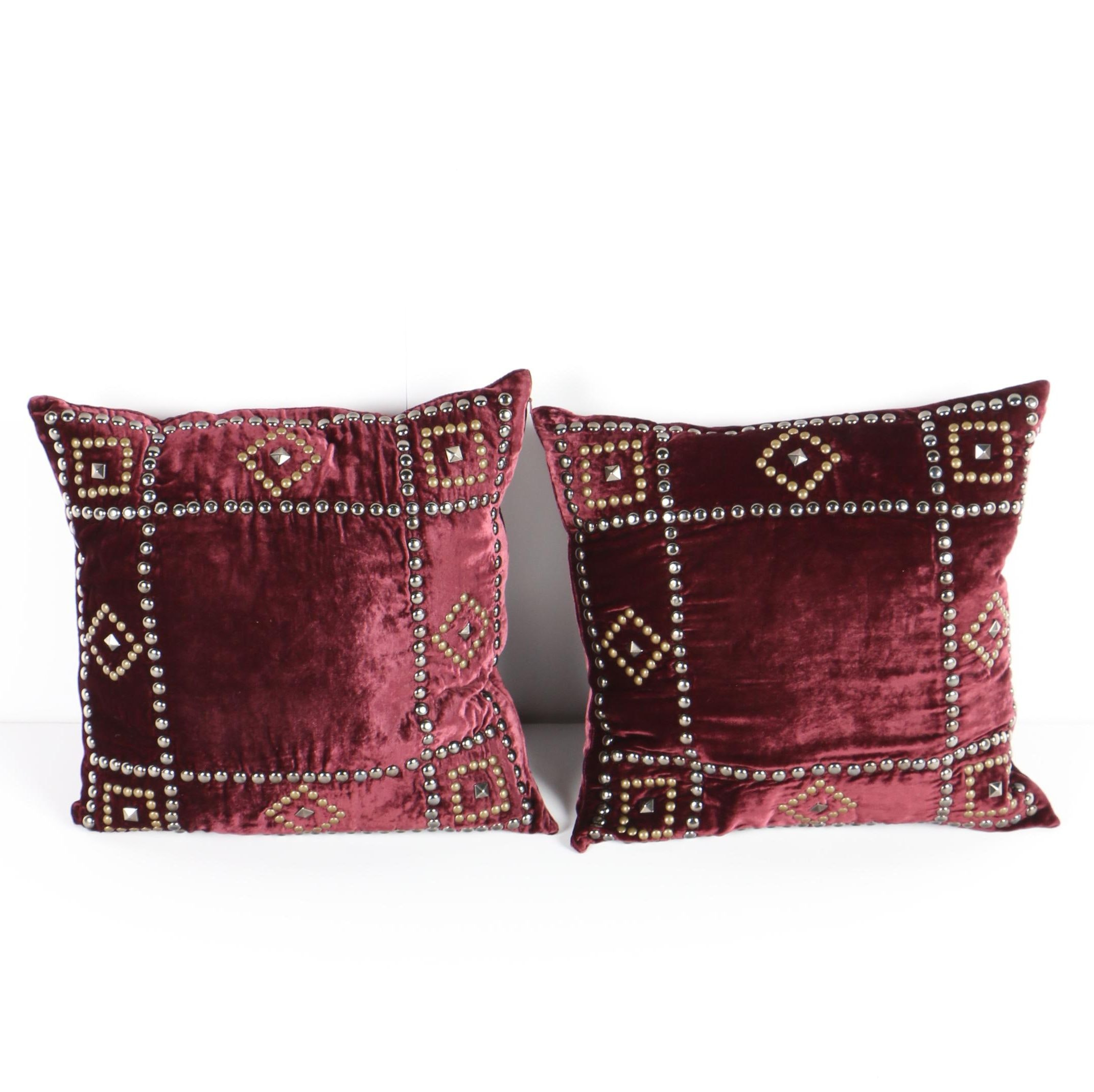 Scarlet Throw Pillows From Double D Ranch ...