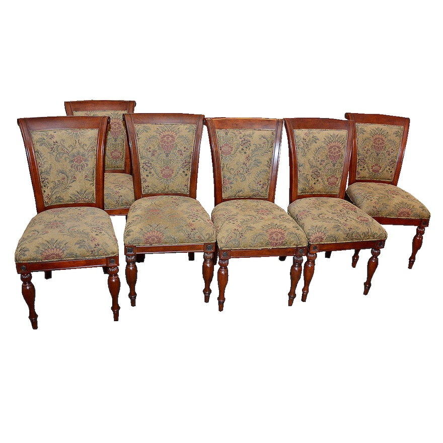 Bombay Company Scroll Back Dining Chairs Ebth