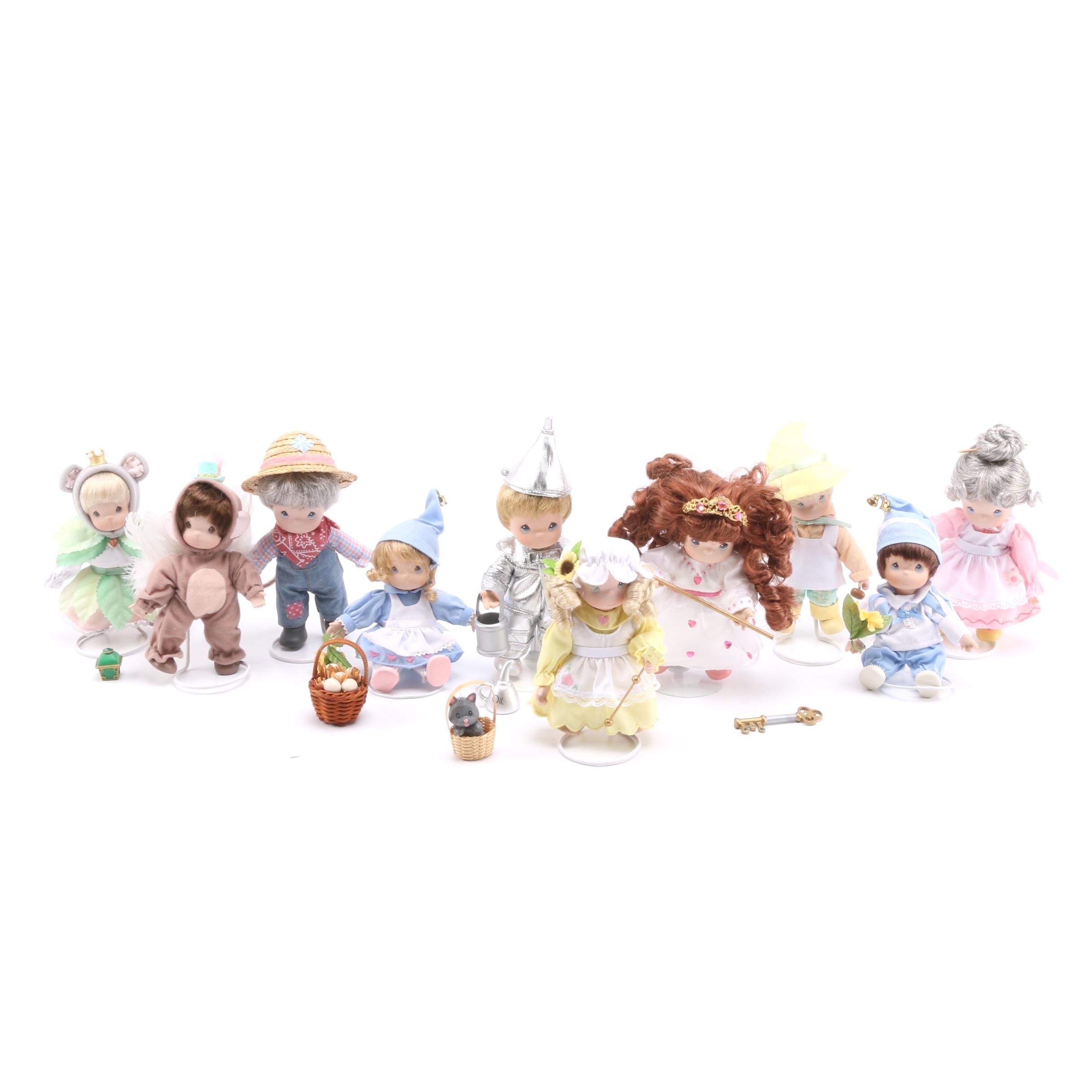 "Precious Moments ""The Wizard of Oz"" Dolls"
