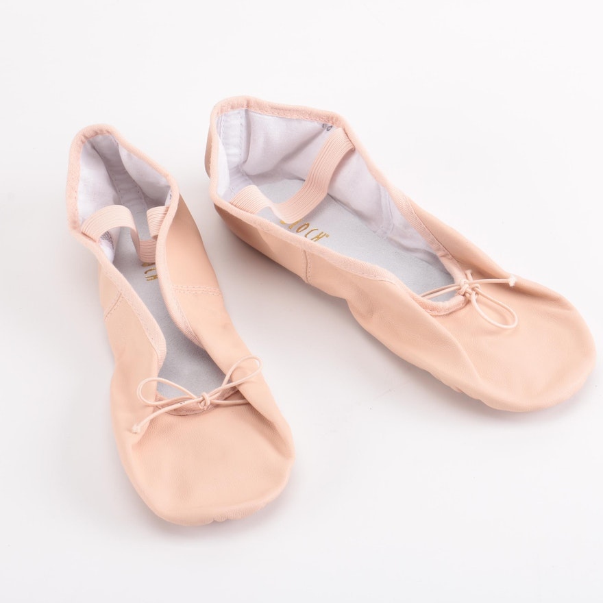 Bloch Pink Ballet Shoes   EBTH 8de6c5b27