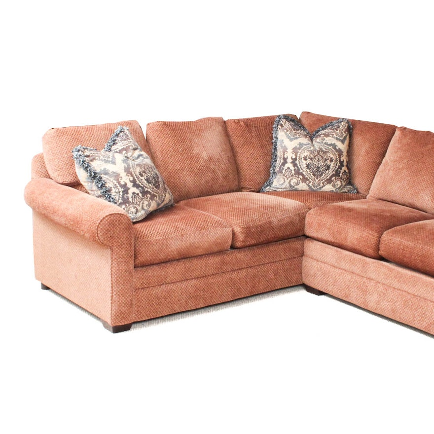 Burnt Orange Sectional Sofa Burnt Orange Sectional Sofa