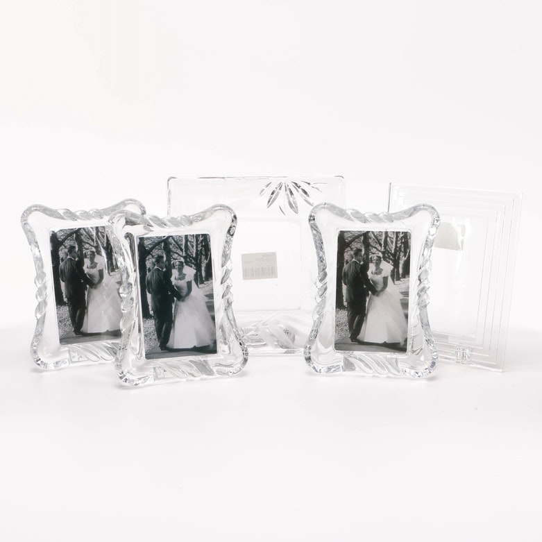 mikasa and waterford crystal picture frames ebth - Mikasa Picture Frames