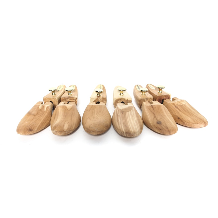 995b4a70fa739 Three Cedar Shoe Trees From Neiman Marcus   EBTH