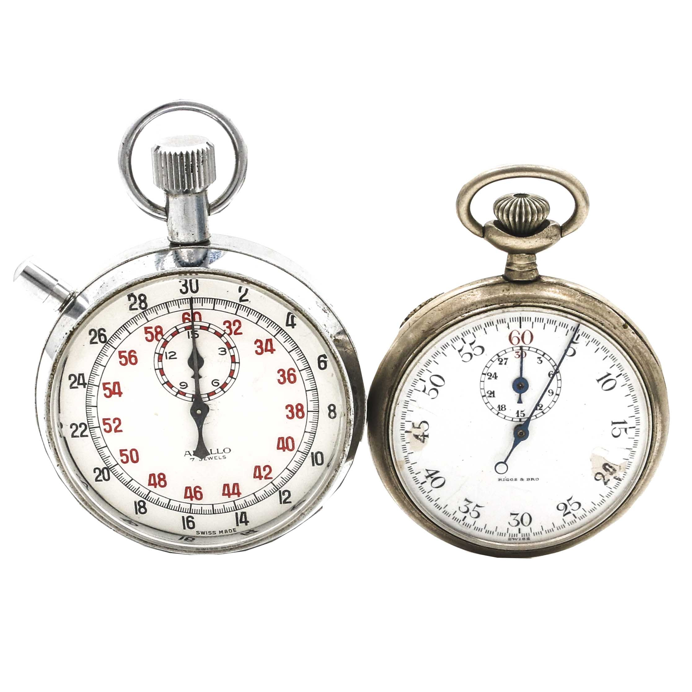 Pair of Stop Watches