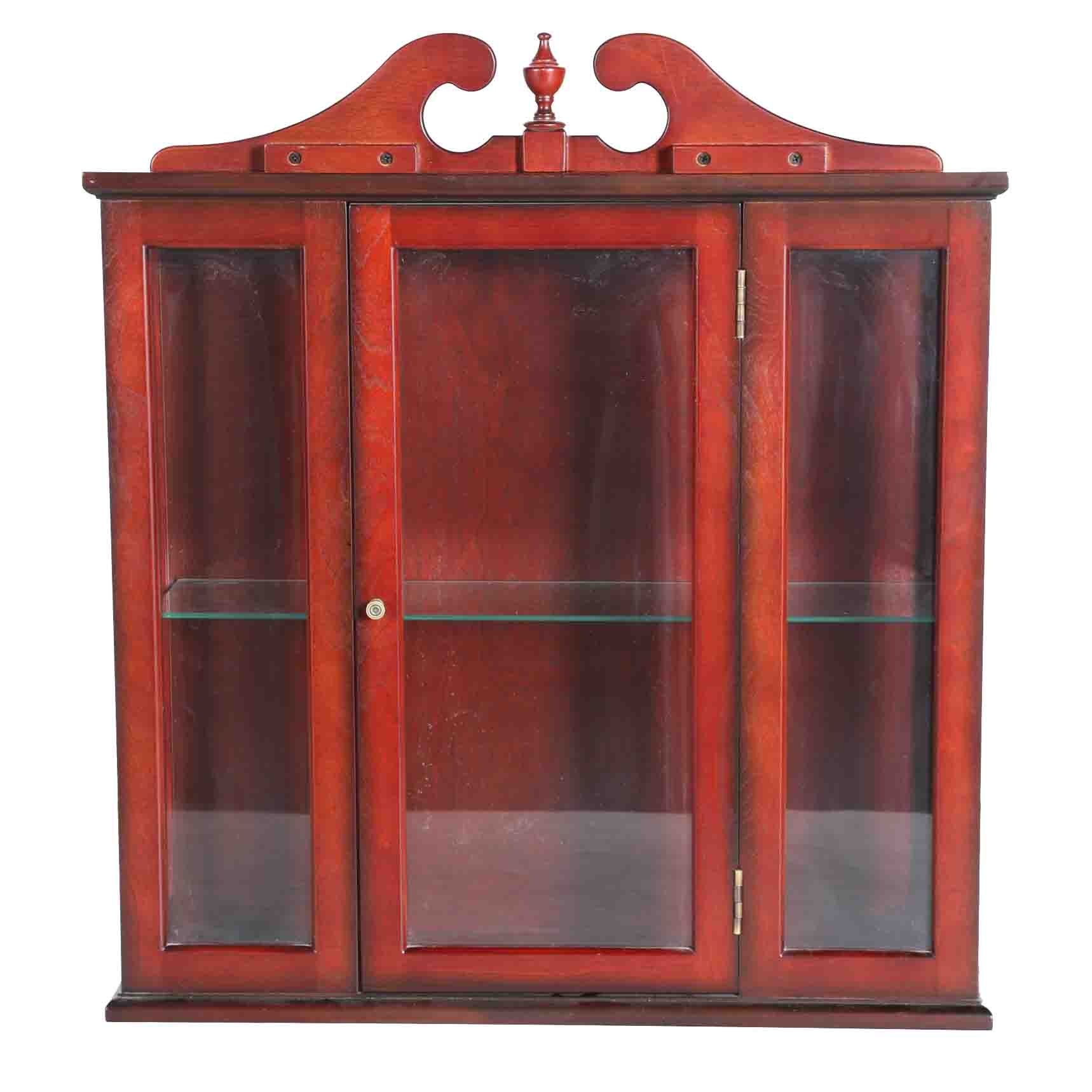 Superior Hanging China Cabinet #15 - Bombay Company Hanging Wall Cabinet ...