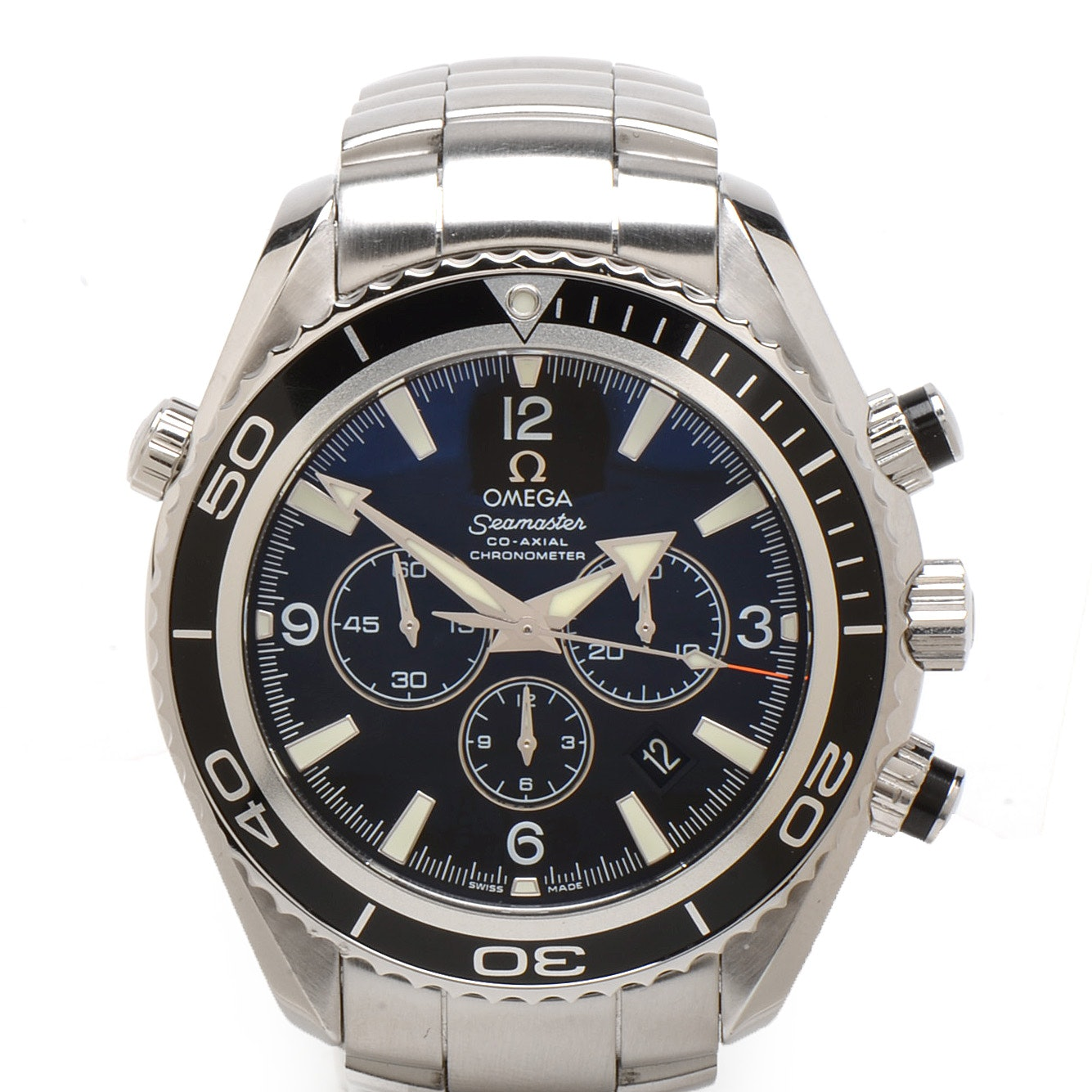 Omega Seamaster Planet Ocean Chronograph 600m Co-Axial Automatic Wristwatch