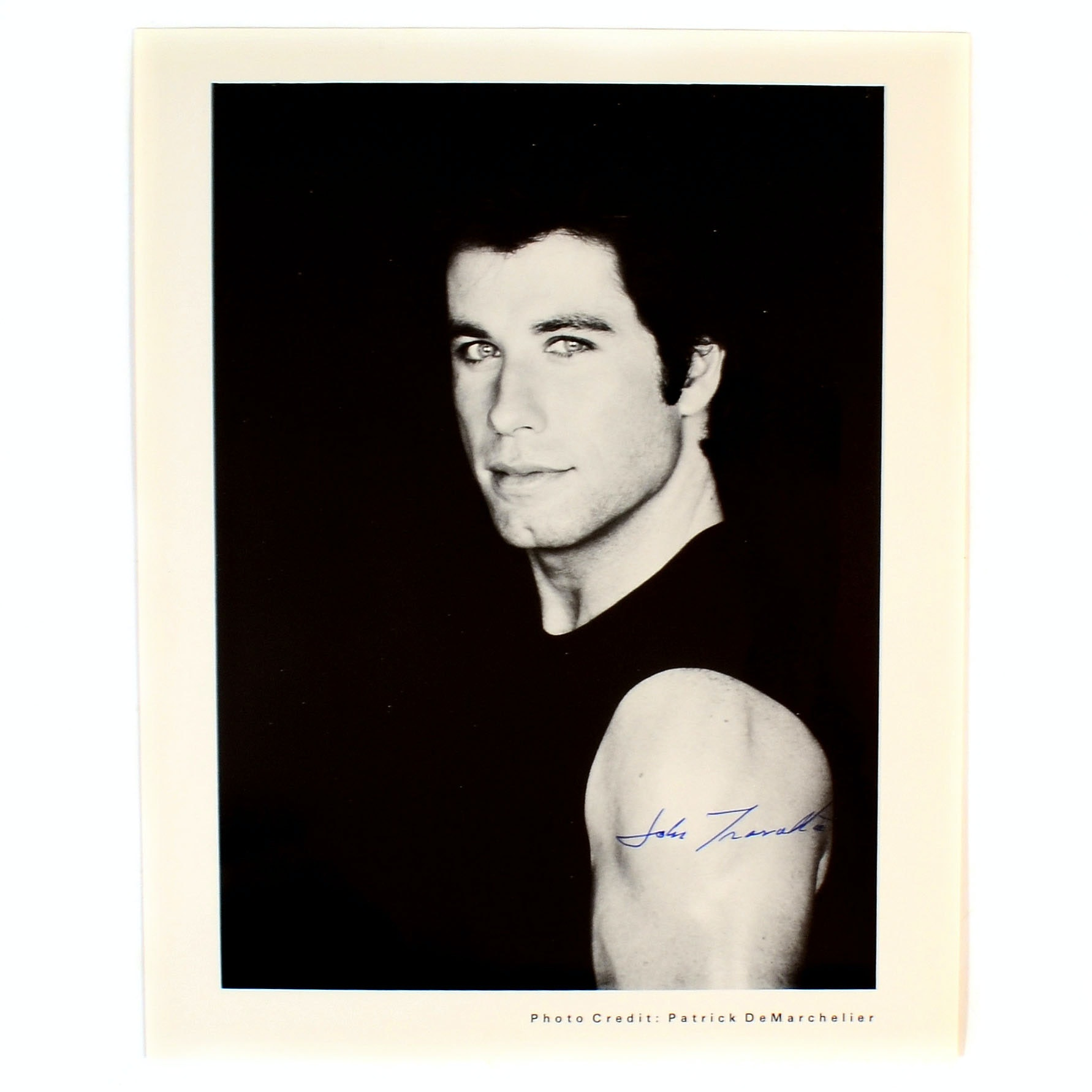 John Travolta Signed Photo