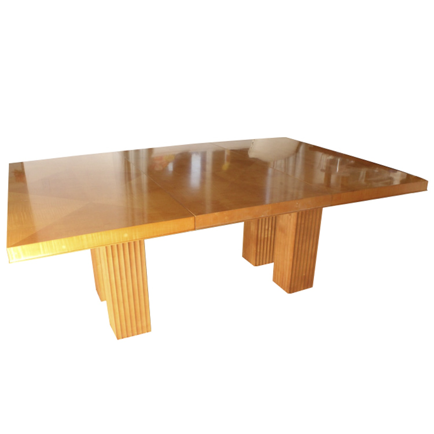 Baker Furniture Parquetry Top Dining Table