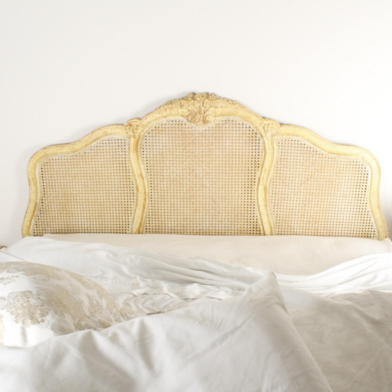Louis XV Influenced Queen Sized Headboard