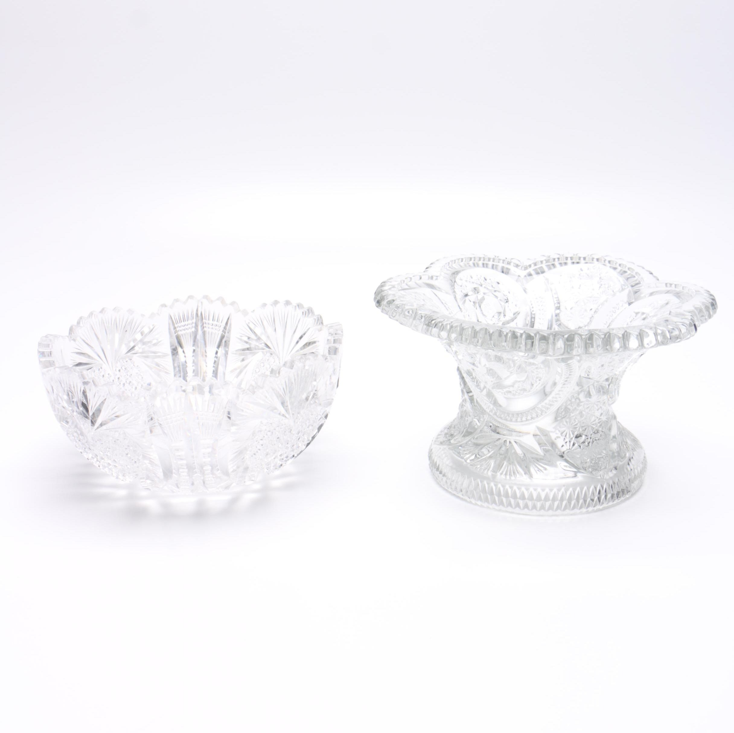 Decorative Crystal and Cut Glass Dishes