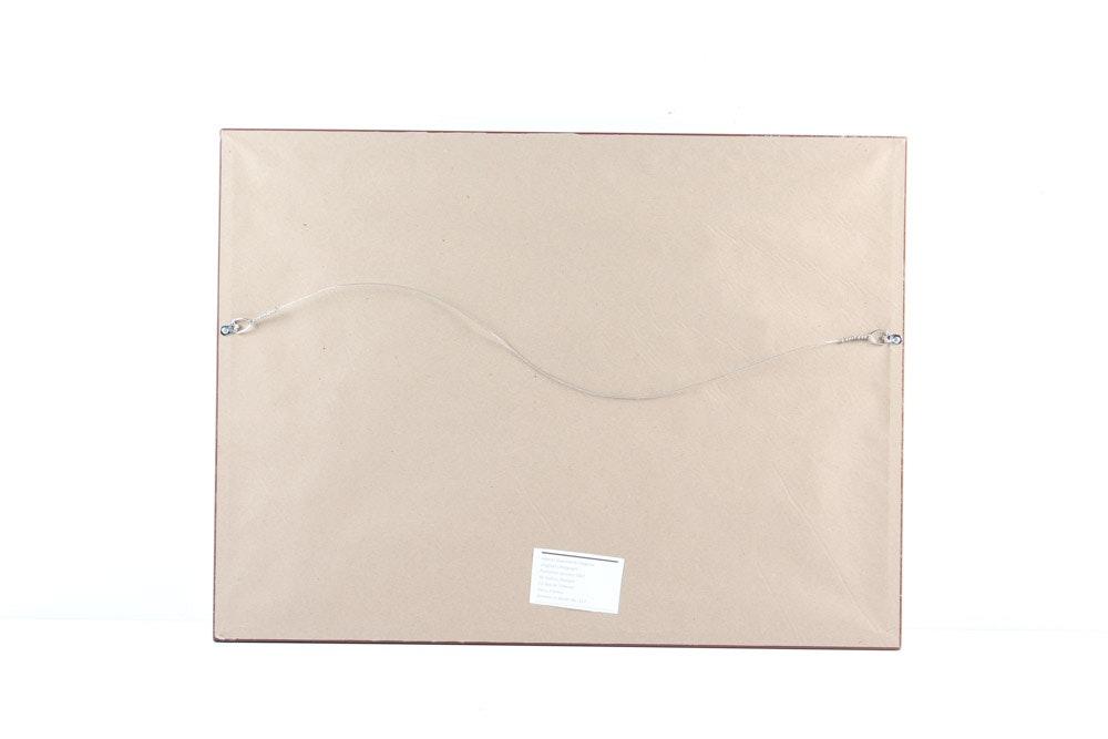Derri re le miroir lithograph of alberto giacometti 39 s for Giacometti derriere le miroir