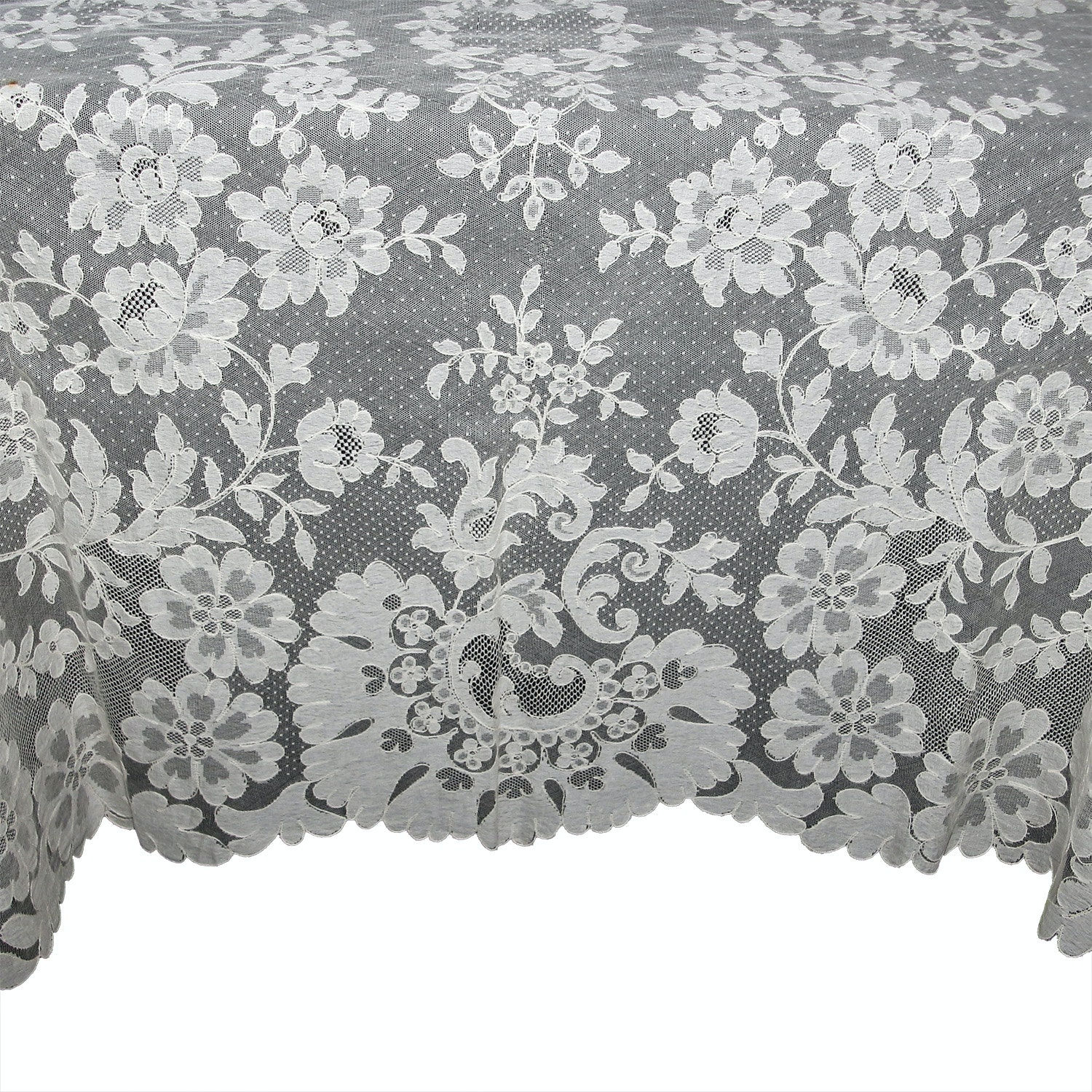 Hand Tatted Lace Tablecloth ...